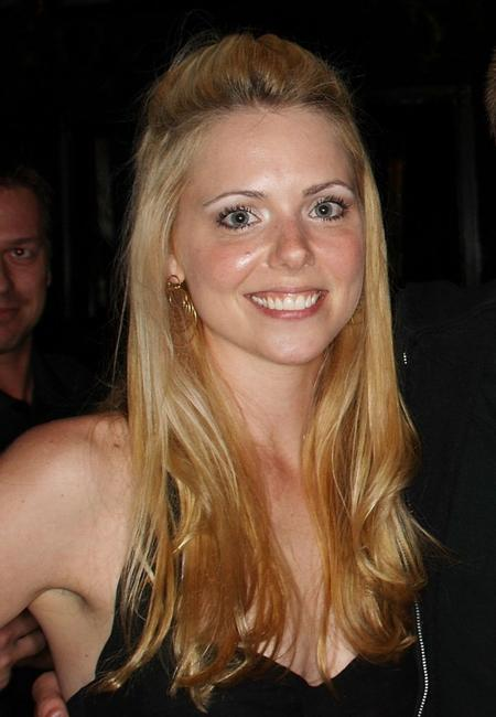 Collette Wolfe at the pre-party screening of