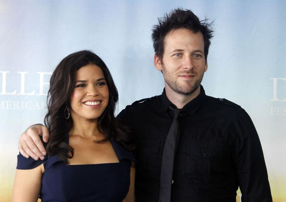 America Ferrera and Ryan O'Nan at the photocall of