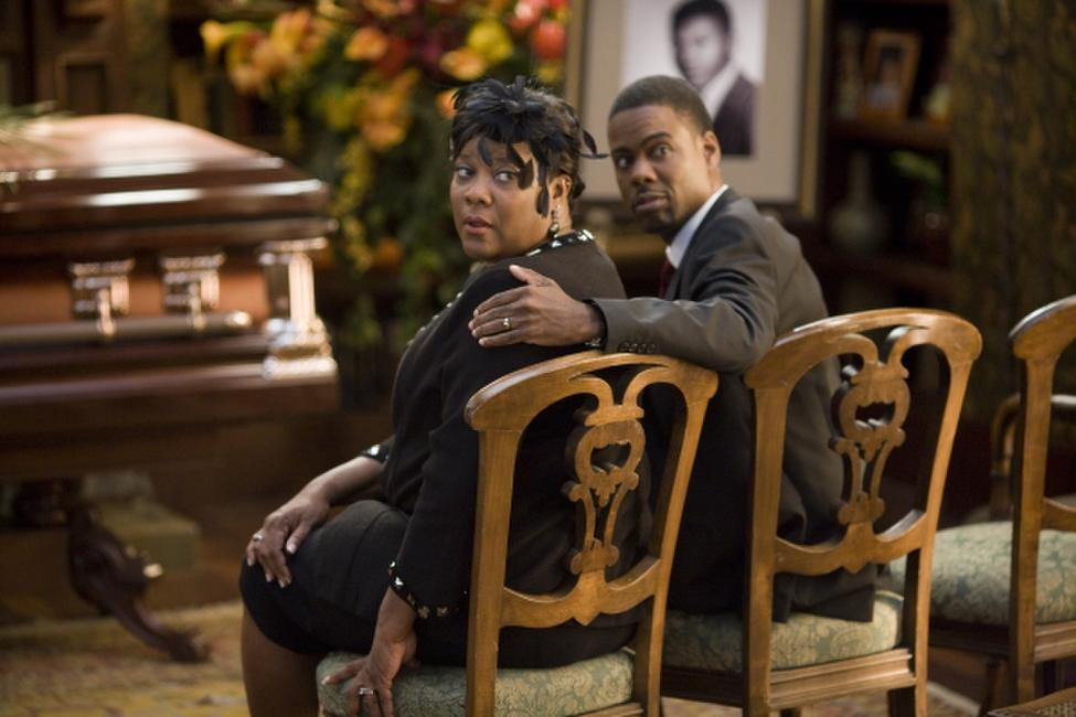 Loretta Devine and Chris Rock in