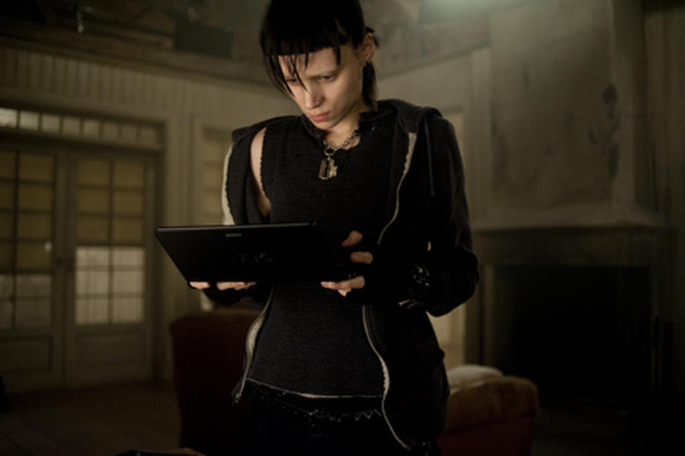 Rooney Mara as Lisbeth Salander in ``The Girl with the Dragon Tattoo.''