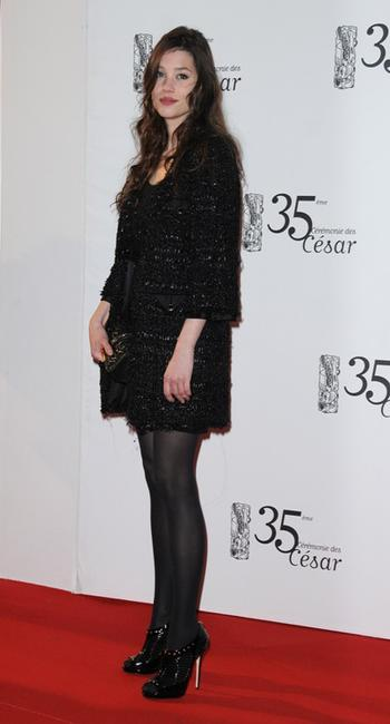 Astrid Berges-Frisbey at the 35th Cesar Film Awards.