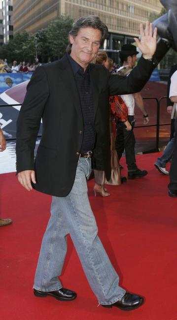 Kurt Russell at the German premiere of