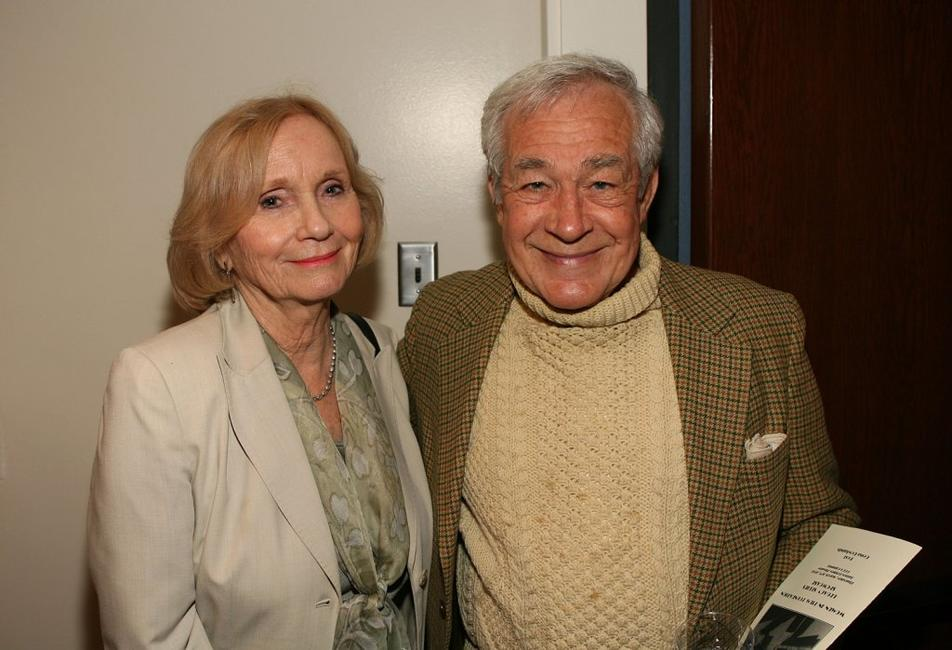 Eva Marie Saint and Jack Larson at the kick-off reception for Women In Film Foundation's