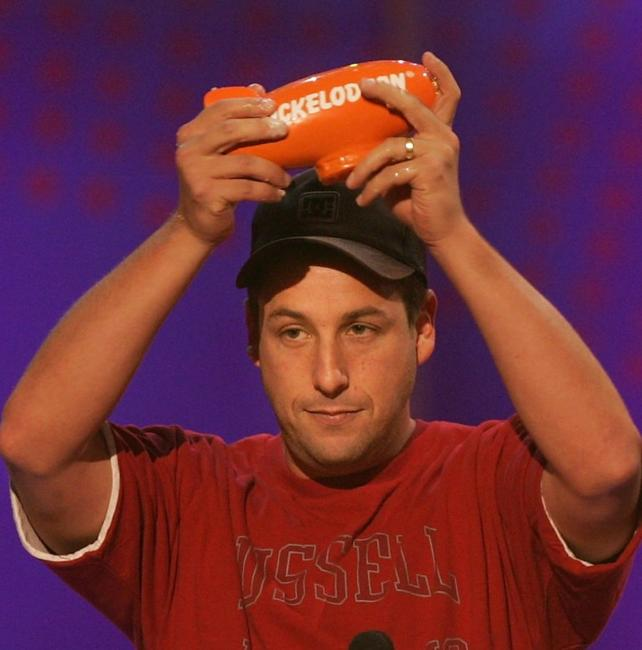 Adam Sandler at the 18th Annual Nickelodeon Kids Choice Awards.