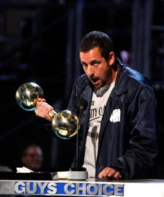 Adam Sandler at the Spike TV's First Annual
