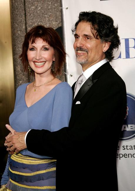 Joanna Gleason and Chris Sarandon at the 59th Annual Tony Awards.