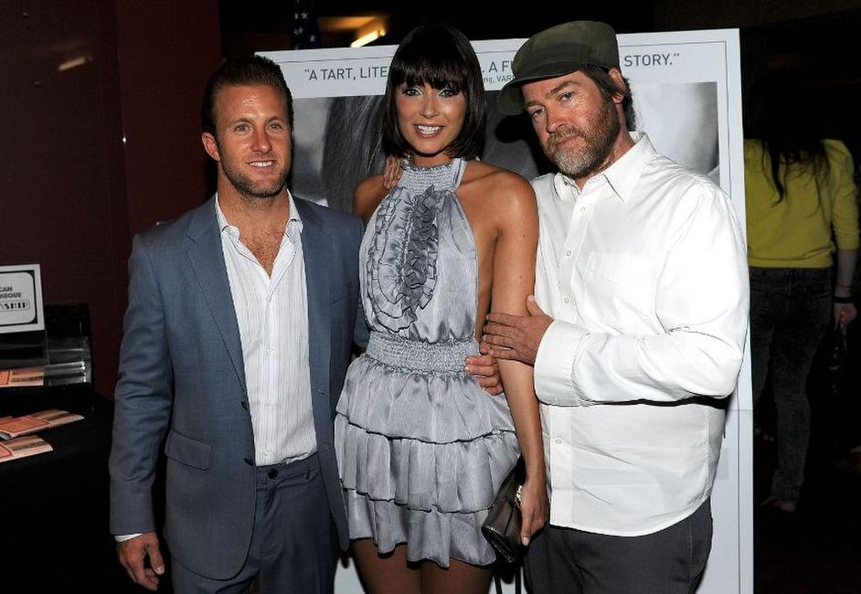 Scott Caan, Wendy Glenn and director Patrick Hoelck at the Los Angeles premiere of