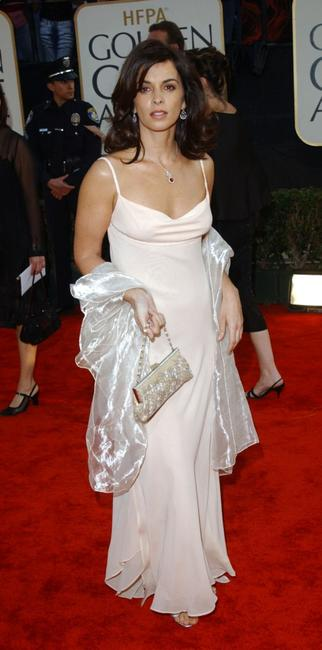 Annabella Sciorra at the 60th Annual Golden Globe Awards.
