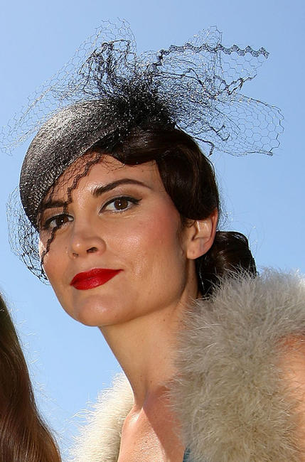 Alice Parkinson at the 2010 Melbourne Cup Launch in Australia.