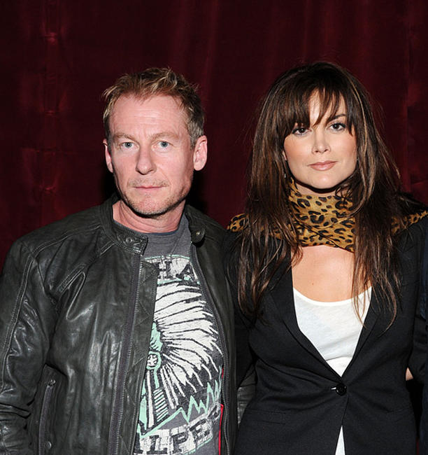 Richard Roxburgh and Alice Parkinson at the Australians In Film Screening of