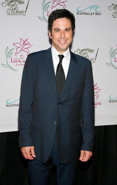 Jonathan Silverman at the Lili Claire Foundation fundraiser.