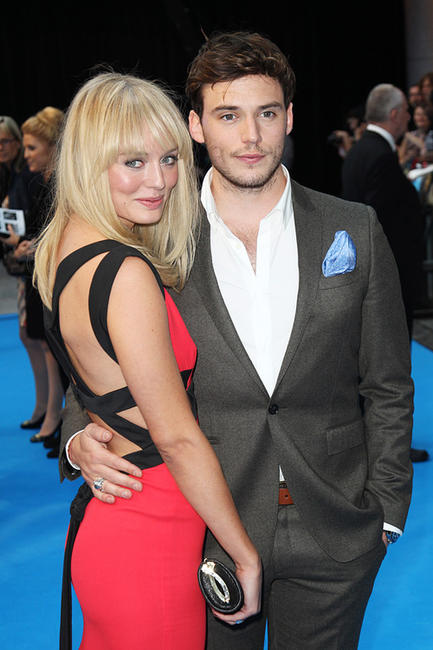 Sam Claflin and Guest at the UK premiere of