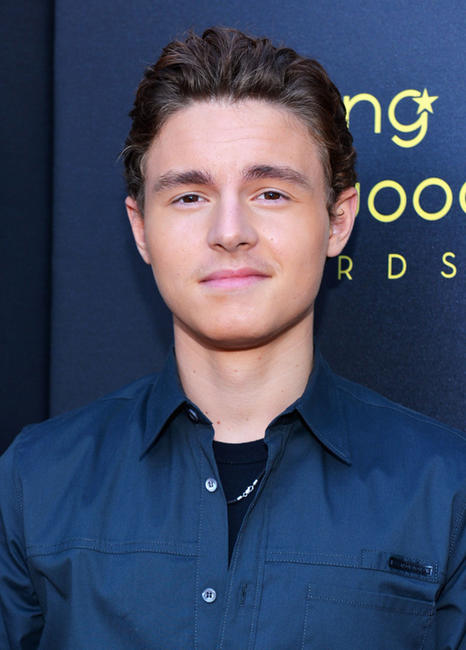 Callan McAuliffe at the 14th Annual Young Hollywood Awards in California.