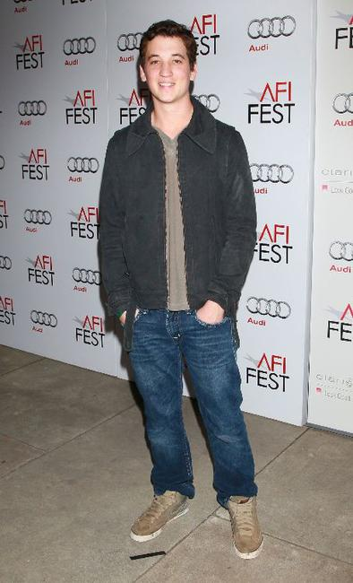 Miles Teller at the screening of