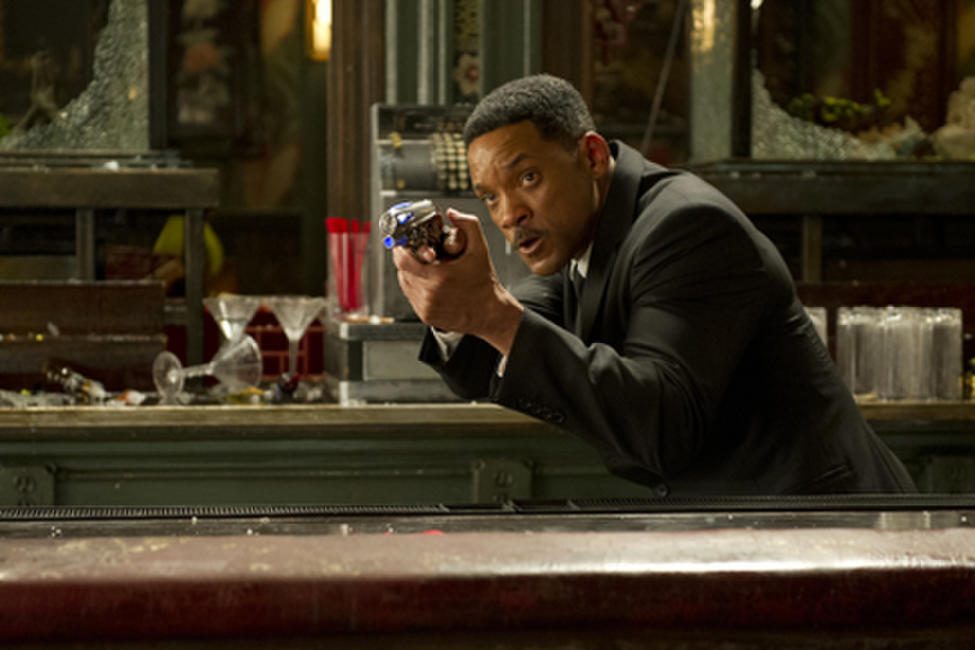 Will Smith as Agent J in ``Men in Black 3.''