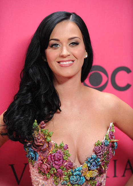 Katy Perry at the 2010 Victoria's Secret Fashion Show 2010.
