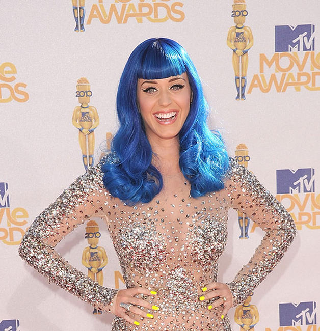 Katy Perry at the 2010 MTV Movie Awards.