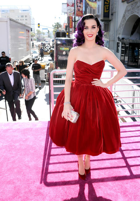Katy Perry at the California premiere of