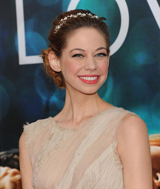 Analeigh Tipton at the world premiere of