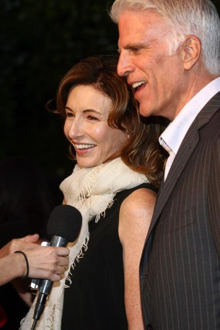 Mary Steenburgen and Ted Danson at the Annual Oceana Partners Awards Gala.