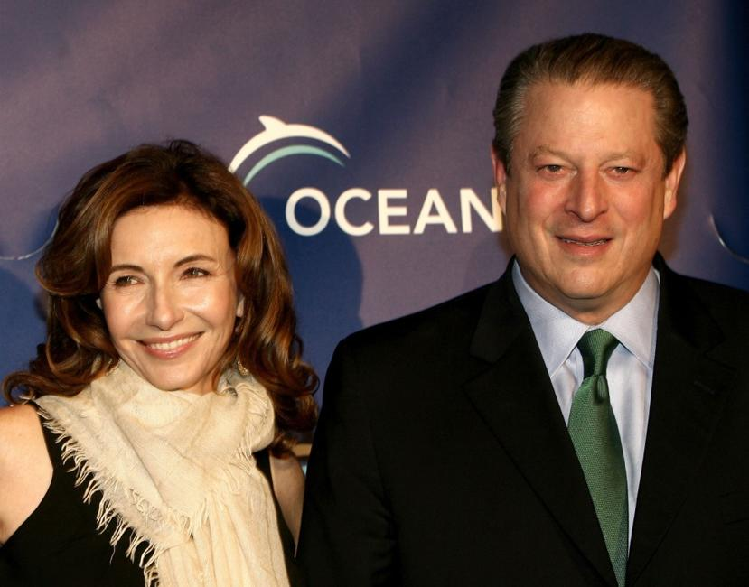 Mary Steenburgen and Al Gore at the Annual Oceana Partners Awards Gala.