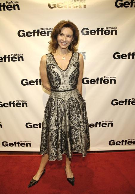 Mary Steenburgen at the play