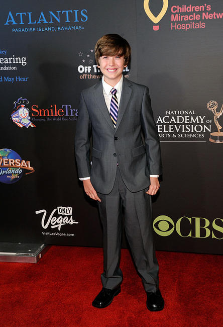 Garrett Ryan at the 38th Annual Daytime Entertainment Emmy Awards in Las Vegas.