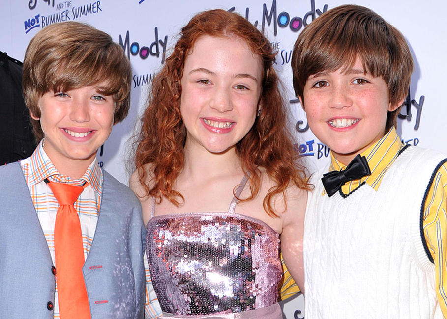 Garrett Ryan, Jordana Beatty and Preston Bailey at the California premiere of