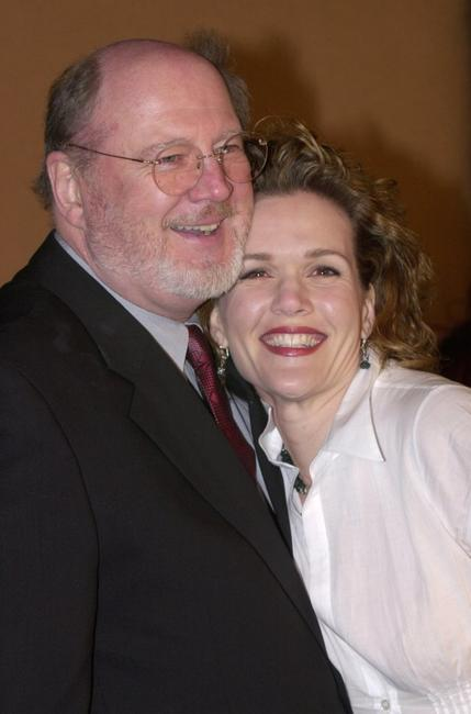 David Ogden Stiers and Catherine Dent at the premiere of