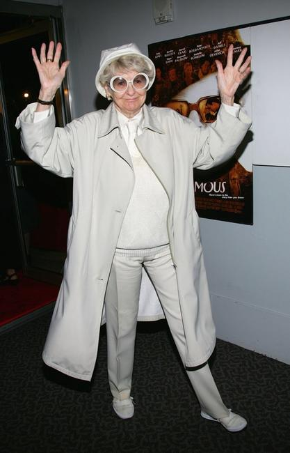 Elaine Stritch at the premiere of