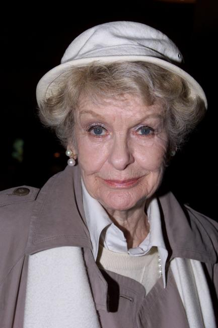 Elaine Stritch at the Theatre Hall of Fame induction ceremony.