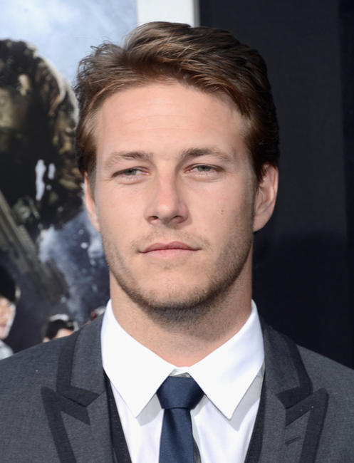 Luke Bracey at the California premiere of