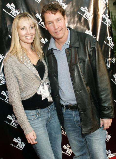 Ashley Sweeney and D.B. Sweeney at the closing night premiere of