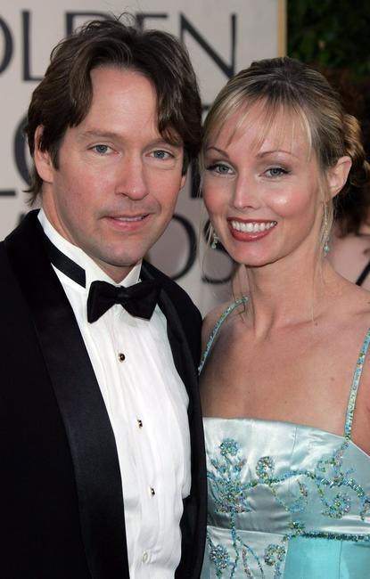 D.B. Sweeney and his wife Ashley at the 63rd Annual Golden Globe Awards.