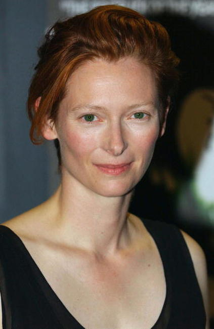 Tilda Swinton at the premiere of