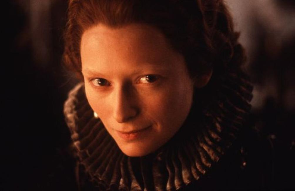 Tilda Swinton as Orlando in