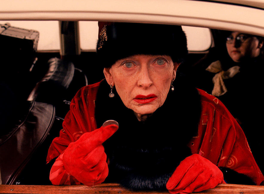 Tilda Swinton as Madame D. in