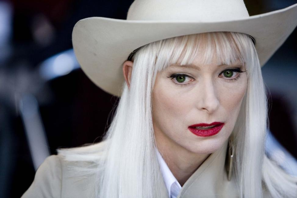 Tilda Swinton as Blonde in