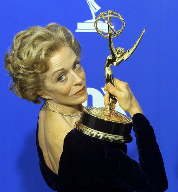 Holland Taylor at the Emmy Award.
