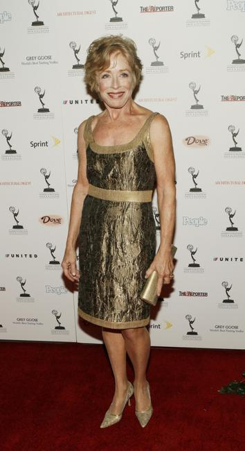 Holland Taylor at the 59th Annual Emmy Performer Nominee party.
