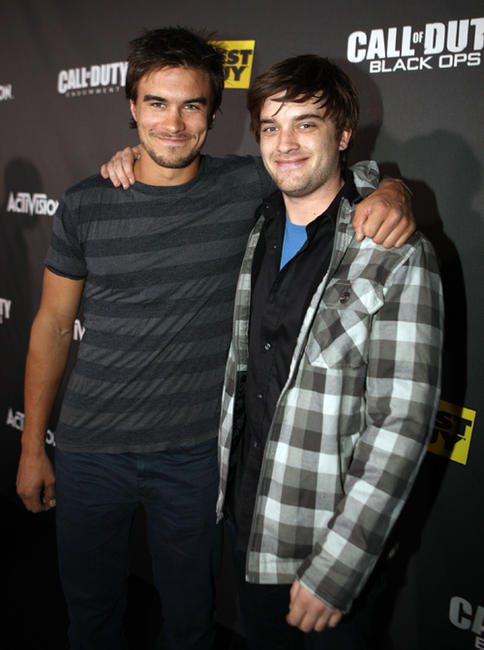 Rob Mayes and Chase Williamson at the