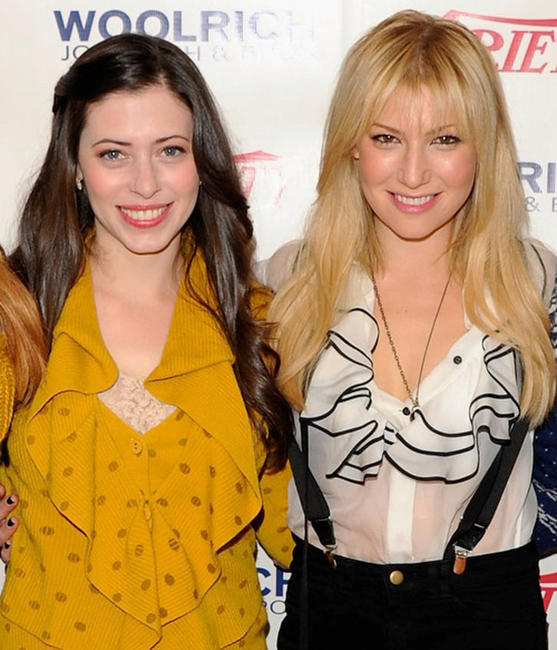 Lauren Anne Miller and Ari Graynor at the Variety Studio during the day 2 of 2012 Sundance Film Festival.