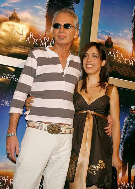 Billy Bob Thornton and girlfriend Connie Angland at the Hollywood premiere of