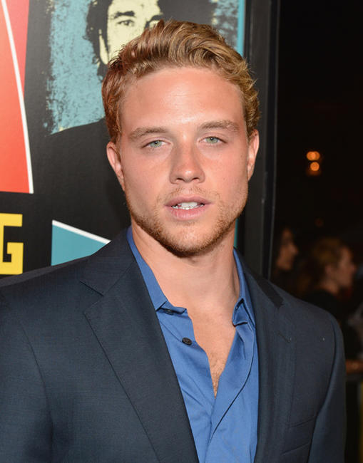 Jonny Weston at the California premiere