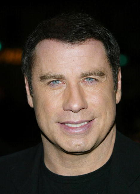 John Travolta at the Westwood premiere of