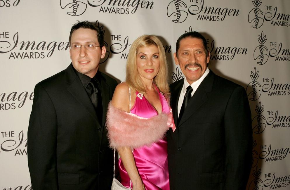 Director Joe Eckardt, Debbie and Danny Trejo at the 20th Annual Imagen Awards Gala.