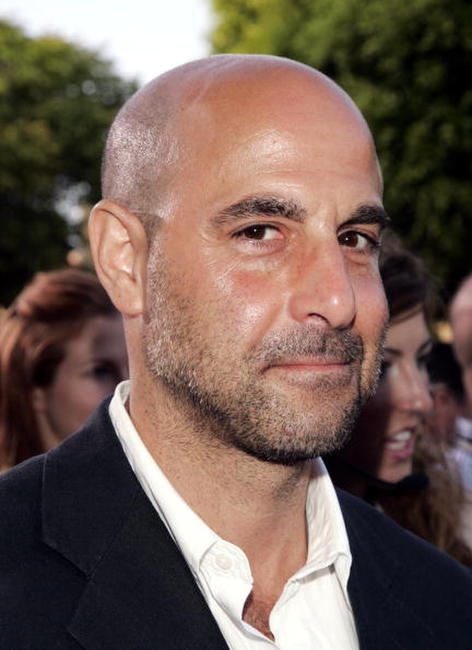 Actor Stanley Tucci at the L.A. premiere of