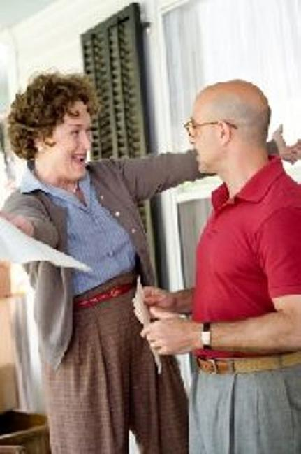 Meryl Streep as Julia Child and Stanley Tucci as Paul Child in