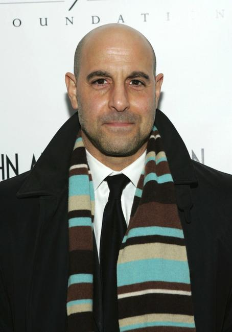 Stanley Tucci at the Elton John & David Furnish Co-Chair AIDS Foundation Benefit.