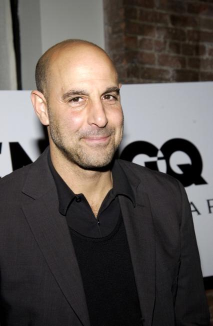 Stanley Tucci at the GQ Honors Bulgari & Men Who Make NY Look Great.